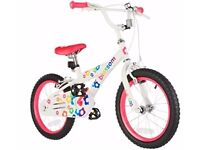 Blossom 16 inch bike ..brand new with stabilisers