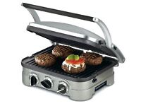 USED Panini Grill Sandwich Maker Griddle Burner Machine Press Electric Cook Nonstick