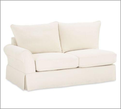 Pb Basic Sofa Slipcover Ebay: Pottery Barn Sectional Slipcover