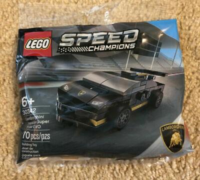LEGO 30342 Speed Champions Lamborghini Huracan Super Trofeo EVO New