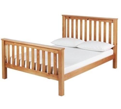 Brand New Oak king size Bed frame   in Thornliebank, Glasgow   Gumtree