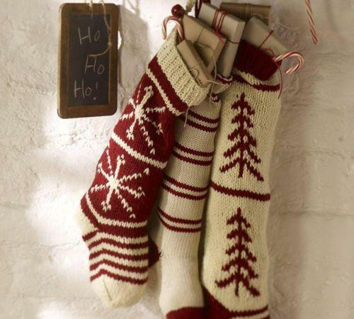 Pottery Barn Knit Stocking Ebay