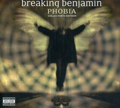 Breaking Benjamin   Phobia  New Cd  Explicit  With Dvd  Collectors Ed  Special