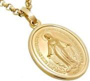 Maria Anhänger Gold