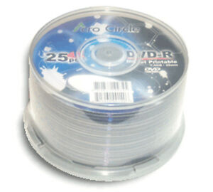 100-Pak-ACRO-CIRCLE-by-Optodisc-WHITE-INKJET-Mini-DVD-R-for-Camcorders