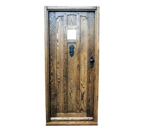 Solid Oak External Door EBay