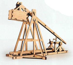 Trebuchet-Wooden-model-kit