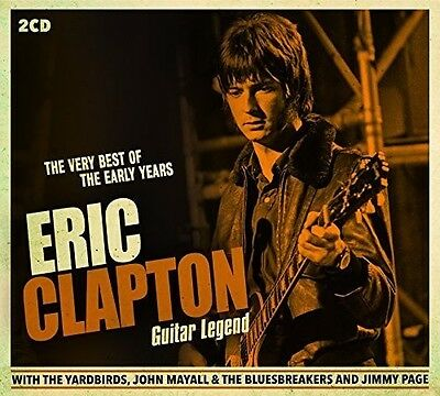 Eric Clapton   Guitar Legend  Very Best Of The Early Years  New Cd  Uk   Import
