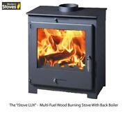 Multifuel Stove Back Boiler