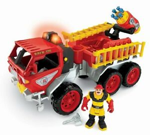 Rescue Heroes fire truck + accessories
