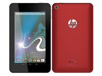 HP Slate 7inch tablet. Red. Wifi only. Used. £45 fixed price