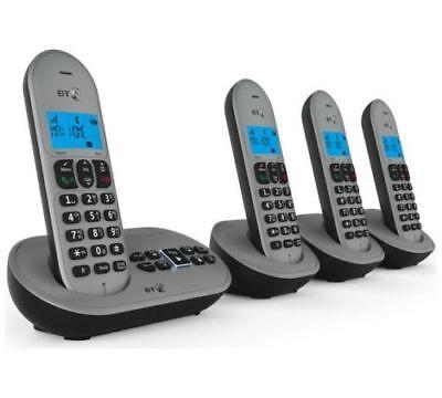 BT 3580 Quad Digital Cordless Telephone & Answering Machine with Speakerphone