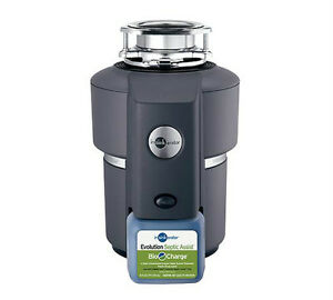 Insinkerator-Evolution-Septic-Assist-3-4-HP-Waste-Disposer-New-in-Box