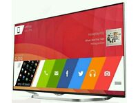 """LG 65LB730V. 65"""" Widescreen Full HD LED 3D Smart TV with webOS and Freeview HD. New Condition"""