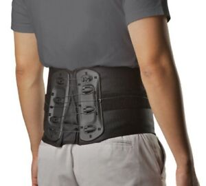 Aspen Medical Evergreen L0627 Lumbar Support Back Brace Black, M