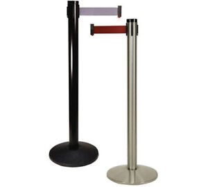 STANCHIONS WITH BELT FOR SALE - 105.00
