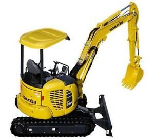 Roadliner Rubber Pads to suit Komatsu PC30 PC35 PC50 PC55 Excavators St Marys Penrith Area Preview