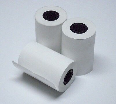 2 14 X 50 Thermal Paper 5 Rolls Nurit 8000 8000s 8010 8020 8010us11 8020us20