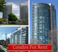 ✦Toronto Condos For Rent✦: $1500-$3400: Free Daily Updates