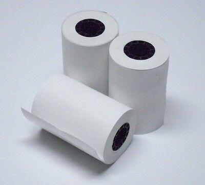 2 14 X 50 Thermal Printer Paper Rolls 20 Rolls Nurit 8000 8000s 8010 8020