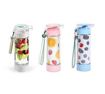 Define Bottle 12Oz Lite Fruit Infuser Shark Tank Reusable Water Bottle Infusion