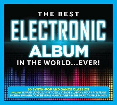 Various Artists - Best Electronic Album In The World...Ever / Various [New CD]