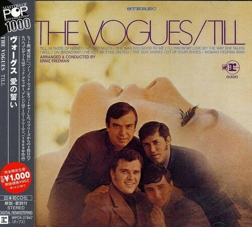 The Vogues - Till [new Cd] Rmst, Japan - Import