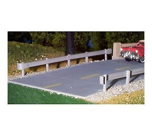 Rix-N-Scale-156-Highway-Overpass-Street-Roadway-Only-4-pieces-NIB