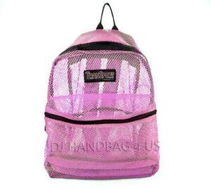 Mesh Backpack | eBay