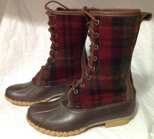 Ll Bean Duck Boots 7 Ebay