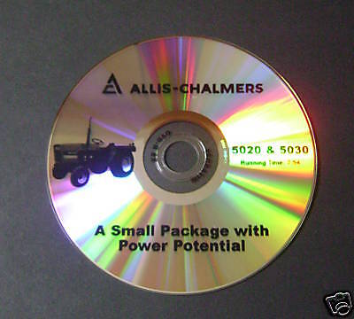 New Farm Tractor Sales Dvd For Allis Chalmers 5020 5030 Ac