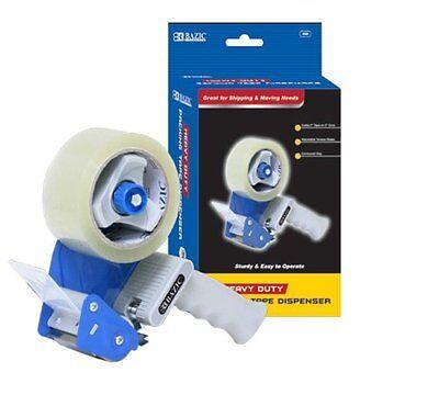 Bazic Tape Gun Dispenser Packaging Cutter Heavy Duty Tape Dispenser 2 Tape