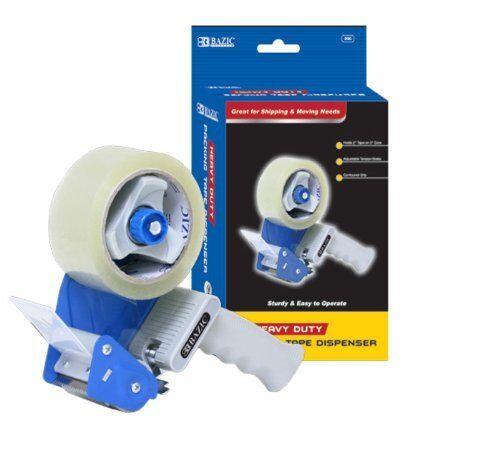 "BAZIC Tape Gun Dispenser Packaging Cutter Heavy Duty Tape Dispenser 2"" Tape"