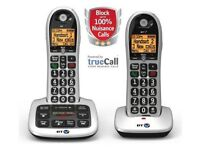 BT 4600 Twin Digital Cordless Telephones with Call Blocker Answer Machine Brand new.