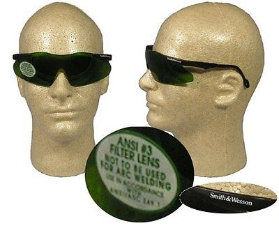 Smith And Wesson Magnum Safety Glasses With 3.0 Welding Lens