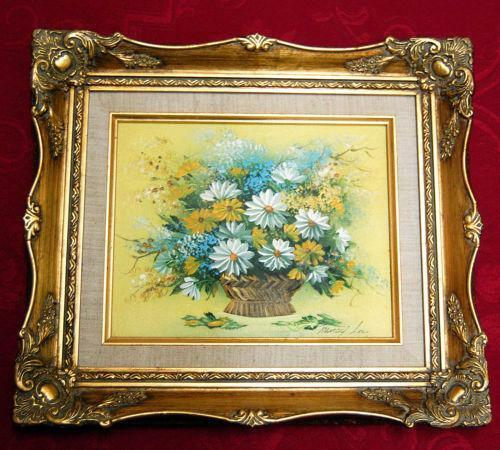 Oil Painting Ornate Frame Ebay
