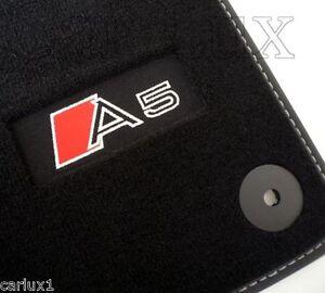 alfombrillas alfombras a medida audi a5 sportback desde 2009 exclusive tapis sol ebay