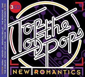TOP OF THE POPS NEW ROMANTICS 3 CD SET