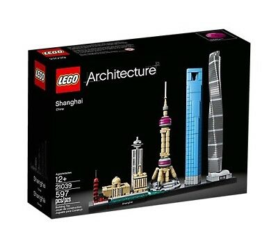 !!!NEW!!! Lego Architecture Shanghai - 21039 - Free Shipping!!!