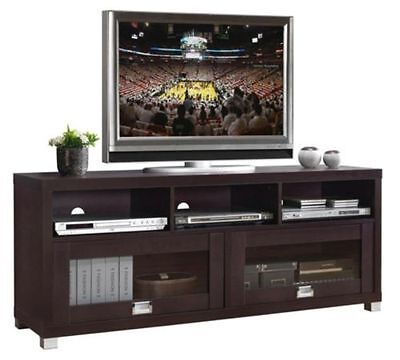 مكتبة تلفزيون جديد TV Stand Entertainment Media Center Theater Cabinet Storage Home Decor Furniture