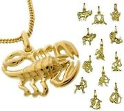 Anhänger Löwe Gold