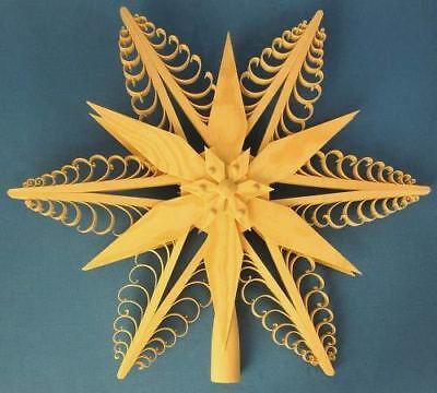 Diva Tree Topper Star German Ornament