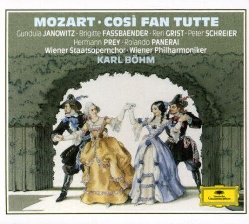 Mozart / Janowitz / - Cosi Fan Tutte (Complete) [New CD]