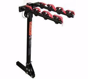 Clearance Sale Pacific 4 Bike Square Hitch Rack Black RRP $299 East Perth Perth City Area Preview