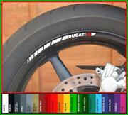Ducati Wheel Decal