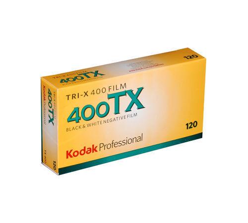 Купить Kodak - 5 Rolls Kodak Pro Tri-X 400 Black & White 120 Print Film Pro Pack 03/2020
