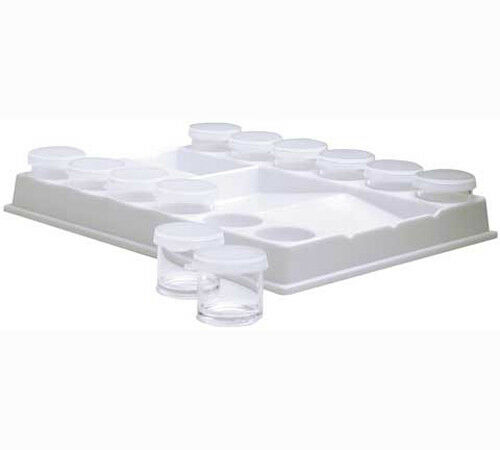 Plastic Palette With Paint Savers