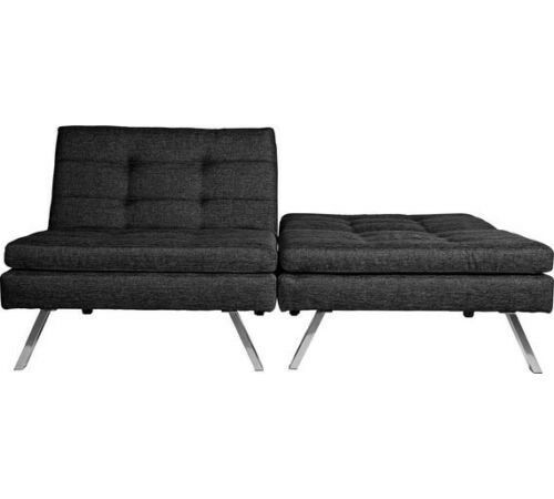 Hygena Duo 2 Seater Clic Clac Sofa Bed Charcoalby Argos 343 2022