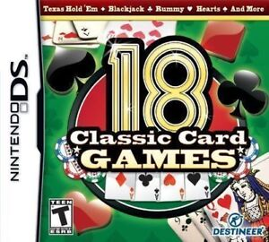 DS 18 Classics Cards Games