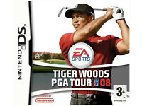 Tiger Woods 08 Nintendo DS